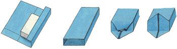 Как обернуть коробку бумагой