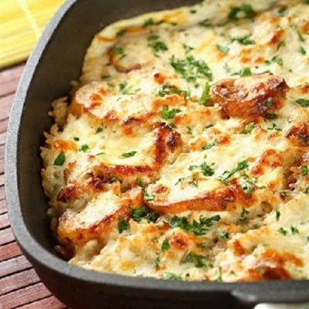 Запеканка из картофеля с мясом и сыром в мультиварке рецепты